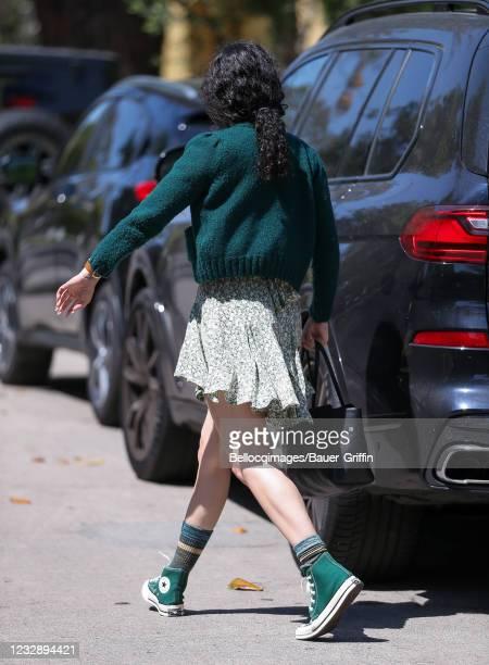 Rumer Willis is seen on May 14, 2021 in Los Angeles, California.