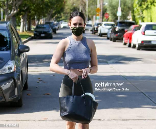 Rumer Willis is seen on May 17, 2021 in Los Angeles, California.