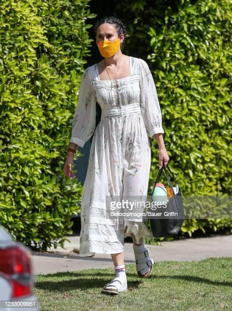 Rumer Willis is seen on May 20, 2021 in Los Angeles, California.