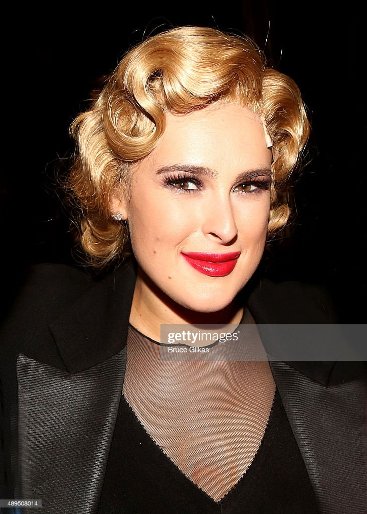 Rumer Willis makes her broadway debut as 'Roxie Hart' in Broadway's 'Chicago' on Broadway at The Ambassador Theater on September 21, 2015 in New York City.
