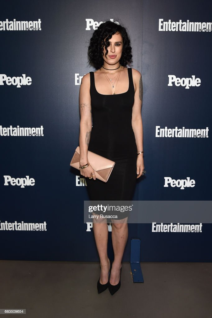 Rumer Willis of Rise attends the Entertainment Weekly and PEOPLE Upfronts party presented by Netflix and Terra Chips at Second Floor on May 15, 2017 in New York City.