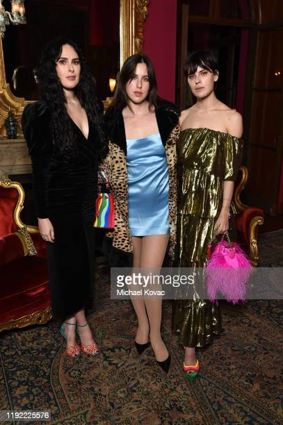 Rumer Willis, Scout Willis, and Tallulah Willis attend the Christian Louboutin & Laura Brown Celebrate The Debut Of The 'ELISA' at The Paramour...