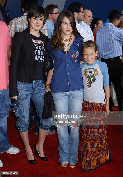 """Rumer Willis, Scout Willis and Tallulah Willis during """"Lords of Dogtown"""" Los Angeles Premiere - Arrivals at Grauman's Chinese Theatre in Hollywood,..."""