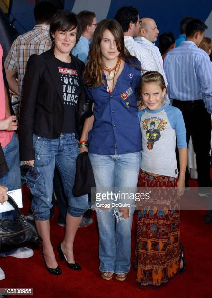 Rumer Willis Scout Willis and Tallulah Willis during 'Lords of Dogtown' Los Angeles Premiere Arrivals at Grauman's Chinese Theatre in Hollywood...