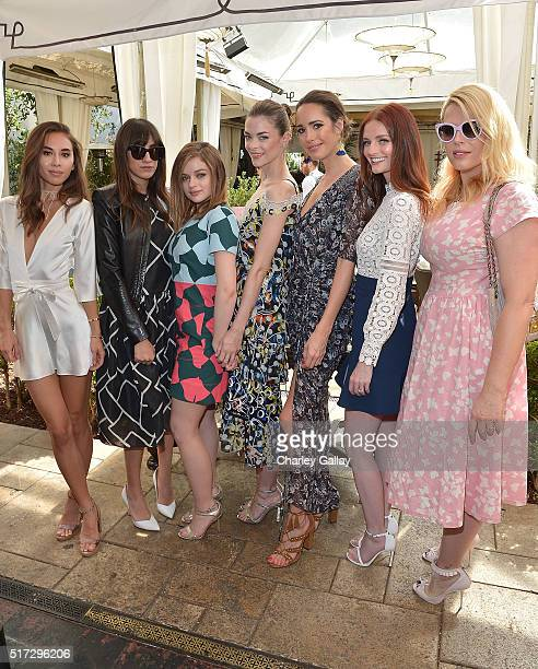 Rumi Neely Mandana Dayani Joey King Louise Roe Jaime King Lydia Hearst and Amanda de Cadenet attend Jaime King x ColourPop Launch #ALCHEMY at Chateau...