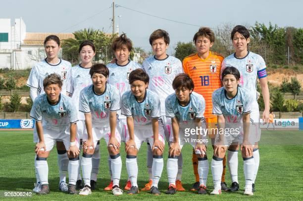 Rumi Utsugi of Japan women Risa Shimizu of Japan women Hikari Takagi of Japan women Yuika Sugasawa of Japan women goalkeeper Ayaka Yamashita of Japan...