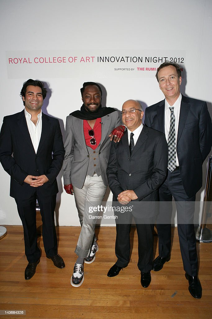 Will.I.Am Attends Royal College Of Art's Innovation Night : News Photo