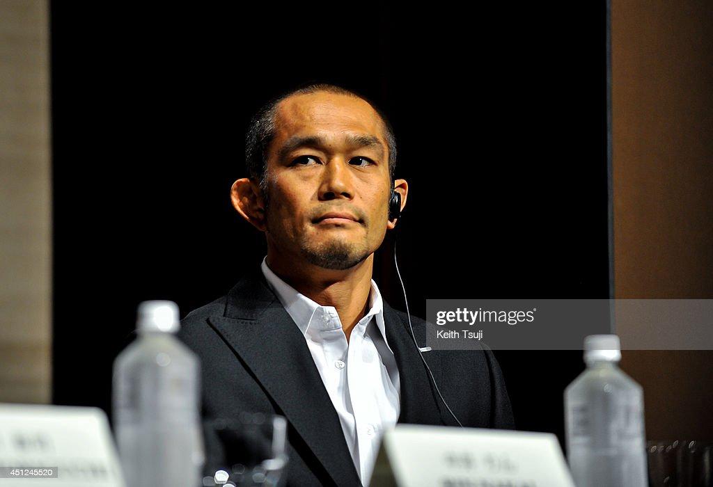 UFC Fight Night: Japan Hunt v Nelson Press Conference : News Photo