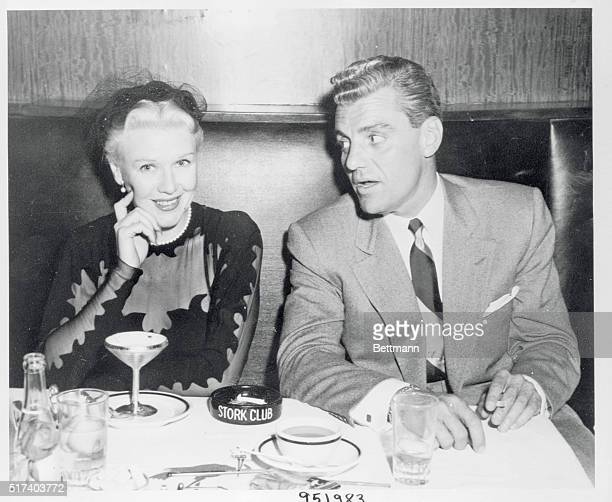 Rumor had it that Ginger Rogers and West Coast attorney Greg Bautzer were no longer chummy as formerly After their pictured appearance in the Stork...