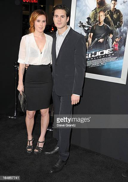 Rumor Willis arrives at the 'GI Joe Retaliation' Los Angeles Premiere at TCL Chinese Theatre on March 28 2013 in Hollywood California