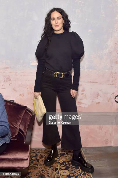 Rumor Willis as Cuyana x RAD Host Panel and Dinner in Honor of Future Coalition at The H Club Los Angeles on October 30, 2019 in Los Angeles,...
