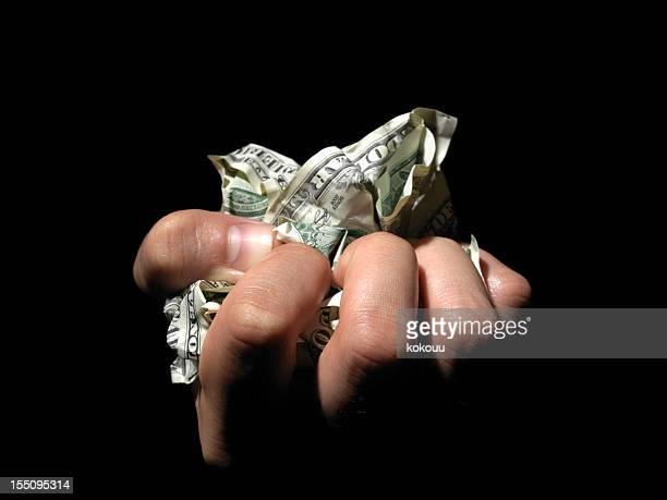 Rumpled bills