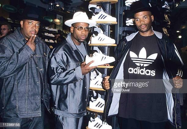 Run DMC during In-Store Promotion t Footlocker, Oxford Street, London - Sept 1st, 2000 at Footlocker Store on Oxford Street in London, Great Britain.