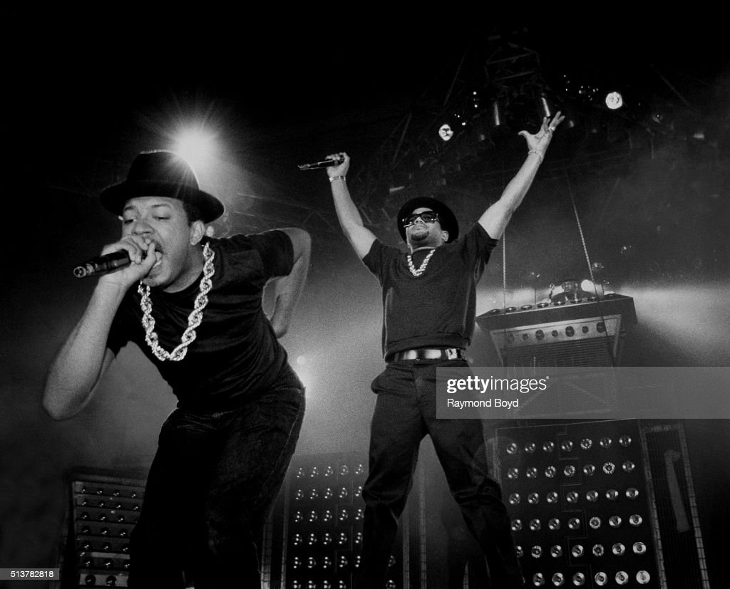 Run DMC Live In Concert : News Photo
