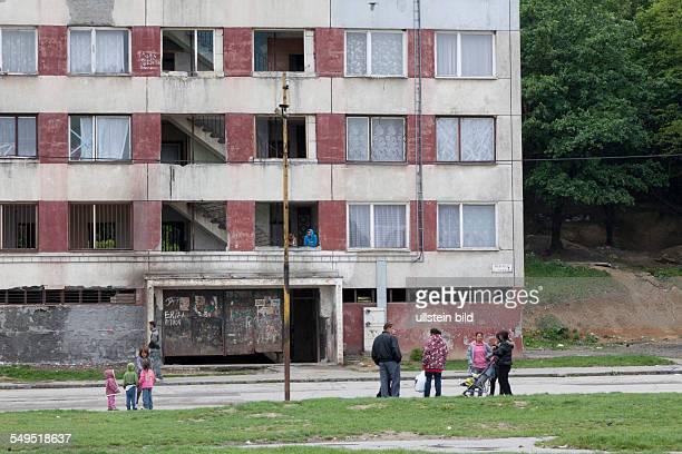 Run down blocks in Lunik IX,