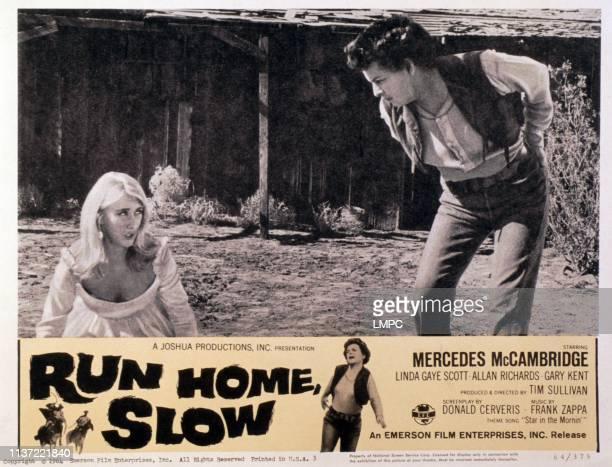 Run Home poster SLOW US poster from left Linda Gaye Scott Mercedes McCambridge 1965
