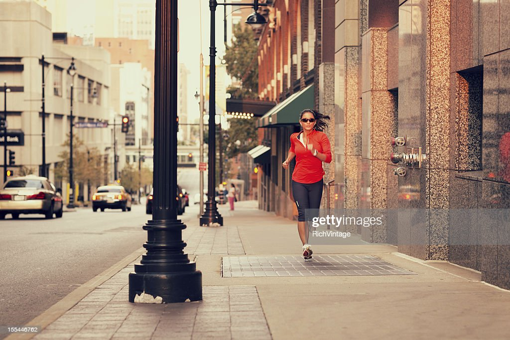 Run in the City : Stock Photo