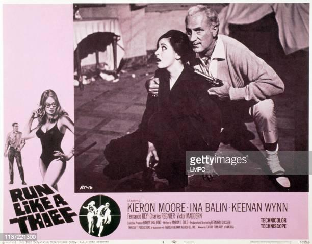 Run Like A Thief US lobbycard from left Ina Balin Keenan Wynn 1968
