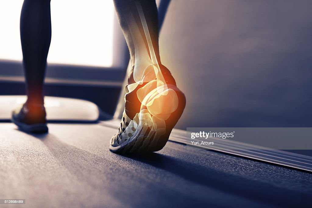 Run off your heels : Stock Photo