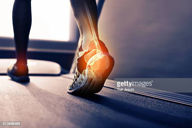 run off your heels - personal injury stock photos and pictures