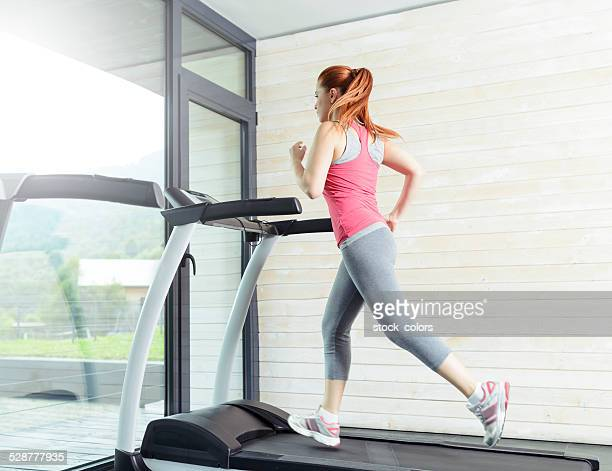 run on treadmill