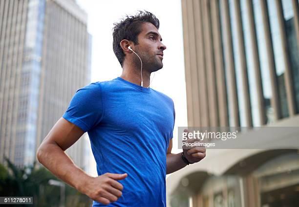 I run to keep the world at bay