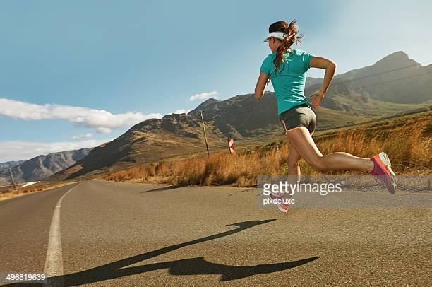 I run to savor my trip along the way