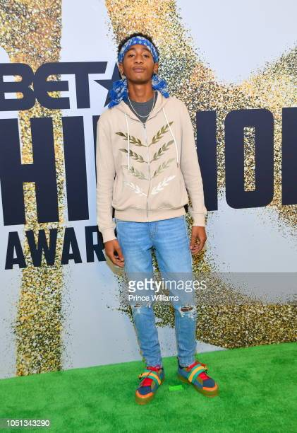 Run up Rico arrives at the BET Hip Hop Awards 2018 at Fillmore Miami Beach on October 6 2018 in Miami Beach Florida