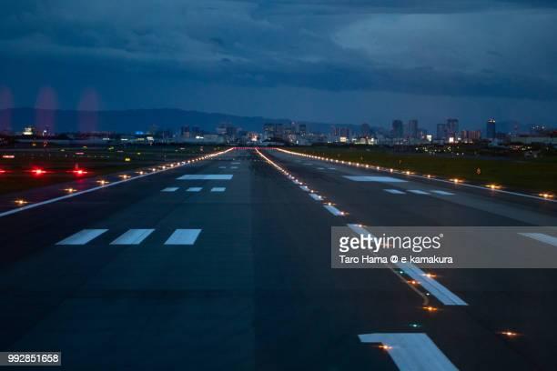 Runaway of Osaka International Airport Itami