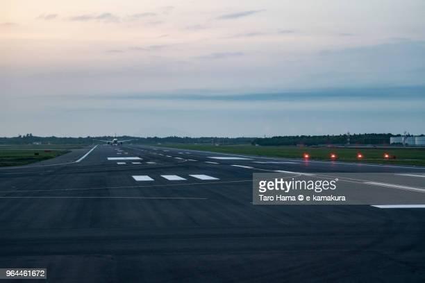 Runaway of Tokyo Narita International Airport in Japan