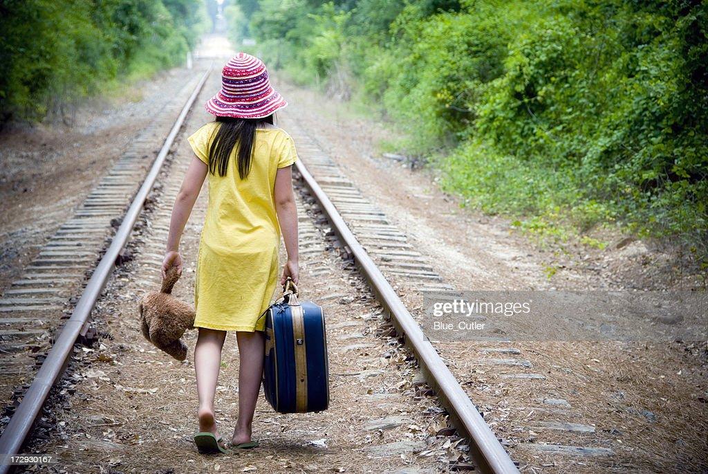 Runaway : Stock Photo