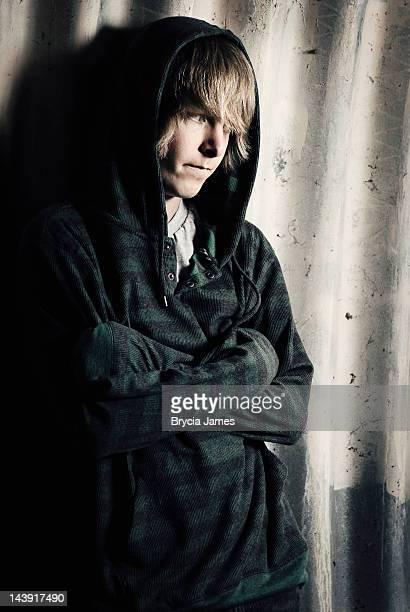Runaway Teenage Male Alone and Afraid