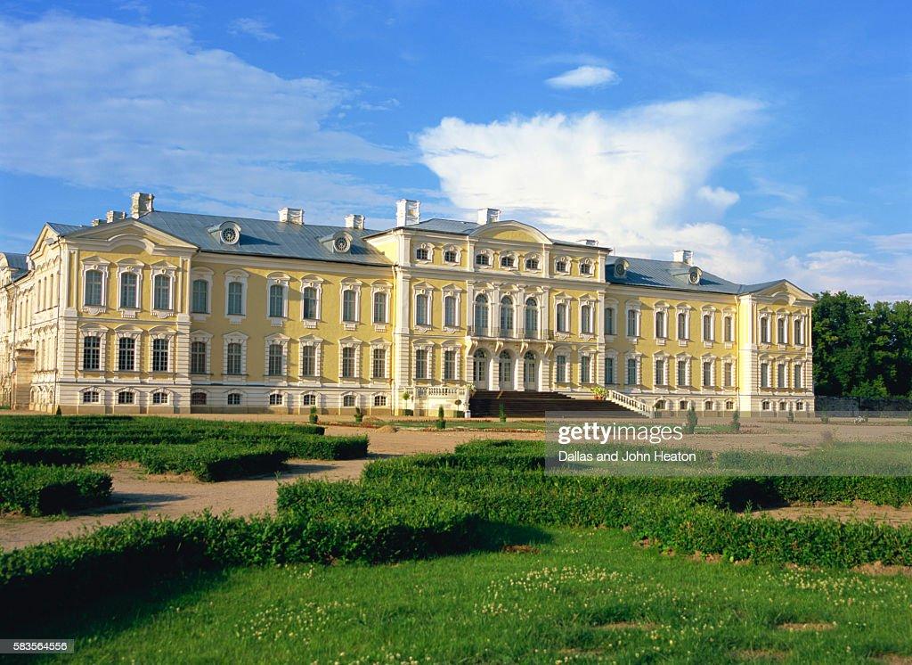 Rundale Palace, Bauska, Latvia : Stock Photo