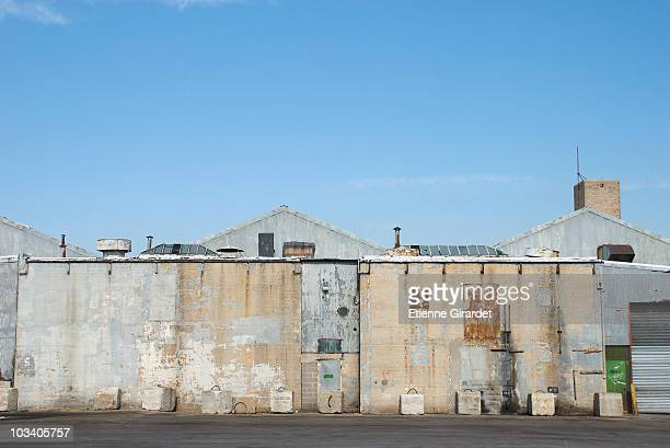 a run-down warehouse - abandoned stock pictures, royalty-free photos & images