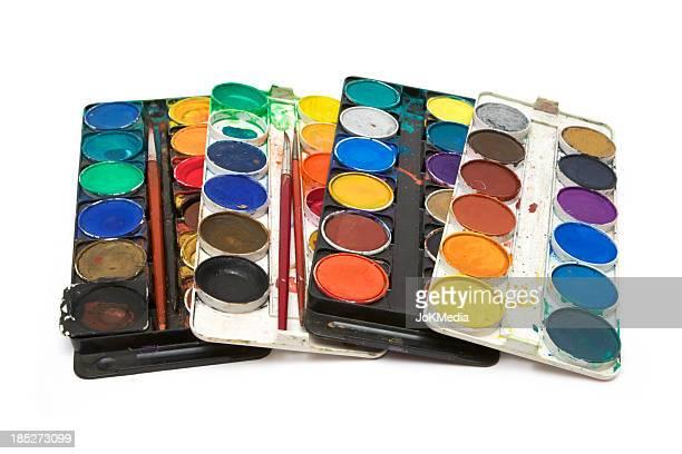 Run-down Watercolor Paints