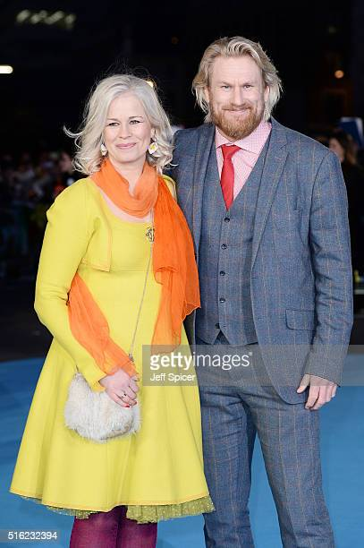 Rune Temte arrives for the European premiere of 'Eddie The Eagle' at Odeon Leicester Square on March 17 2016 in London England