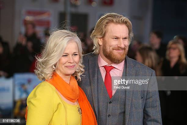 Rune Temte attends the European Premiere of Eddie The Eagle at Odeon Leicester Square on March 17 2016 in London England