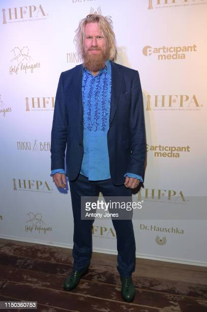 Rune Temte attends the HFPA Participant Media Honour Help Refugees' during the 72nd annual Cannes Film Festival on May 19 2019 in Cannes France