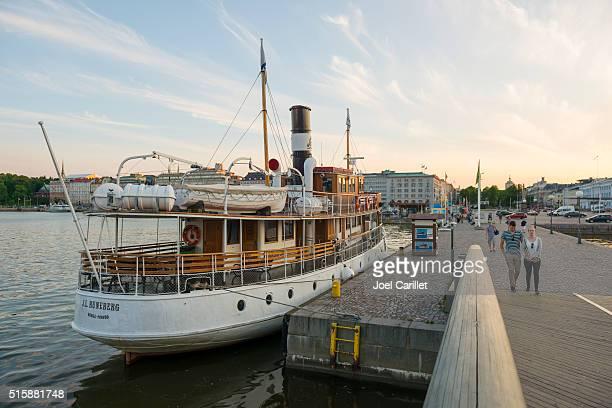J.L. Runeberg boat in Helsinki, Finland