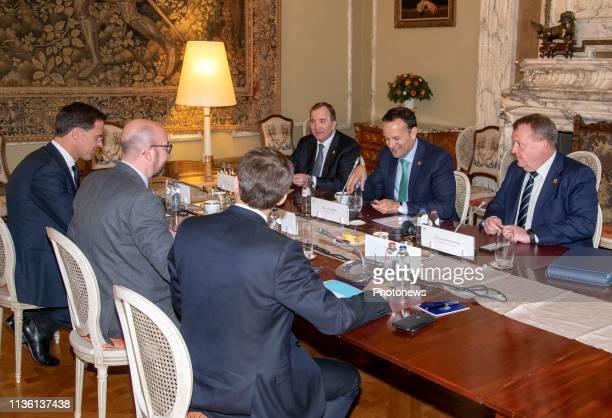 Réunion de coordination sur les conséquences potentielles d'un Brexit organisée par plusieurs pays voisins du RoyaumeUni Coördinatievergadering over...
