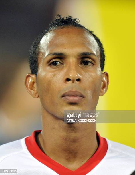 Runiz Liedson of Portugal is seen at Puskas stadium of Budapest on September 9, 2009 prior to their qualification group match for 2010 World Cup...