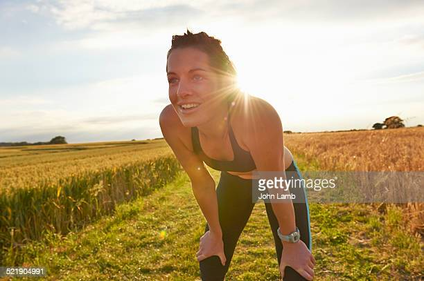 runner at rest - resting stock pictures, royalty-free photos & images
