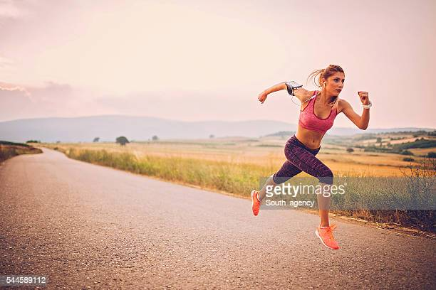 Runner athlete running