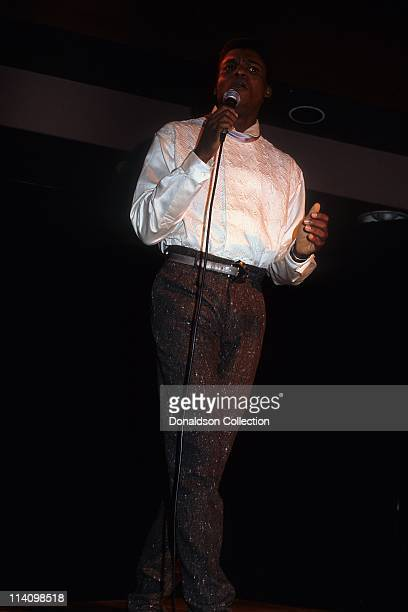 Runner Carl Lewis speaks in 1984 in Los Angeles California