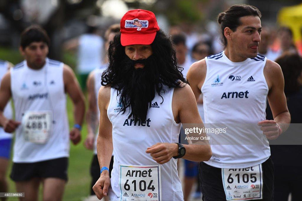 Buenos Aires Marathon : News Photo