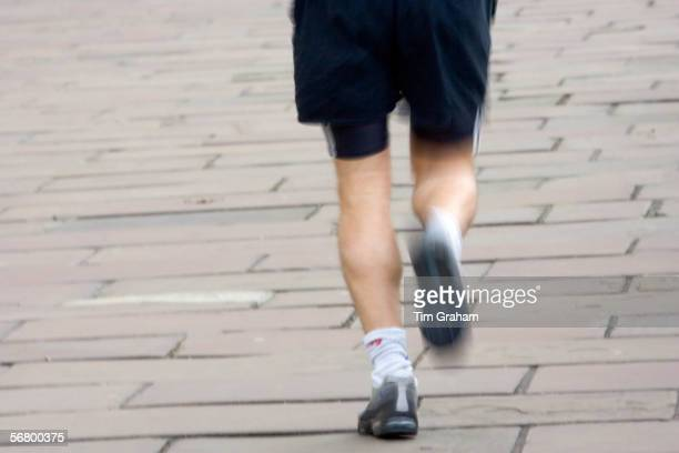 Runner in London England United Kingdom