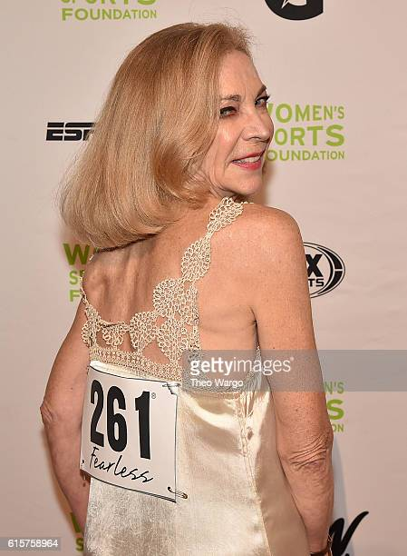 Runner Kathrine Switzer attends the 37th Annual Salute To Women In Sports Gala at Cipriani Wall Street on October 19 2016 in New York City