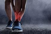 Runner leg injury