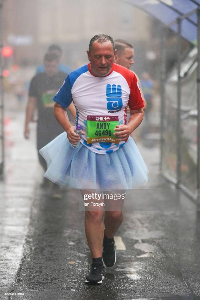 Runners Take Part In The Great North Run : News Photo