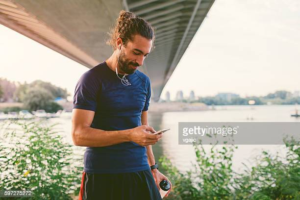 runner. - waist up stock pictures, royalty-free photos & images
